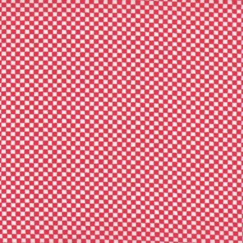 Checkerboard Red \u0026 White – Modern Quilt